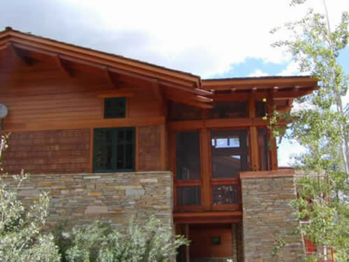 Redwood timbers photo gallery for Redwood siding cost