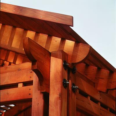 Redwood Decking