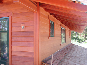 Redwood Siding